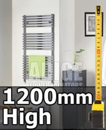Picture for category 1200mm High Heated Towel Rails & Radiators