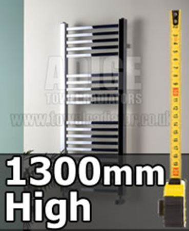 Picture for category 1300mm High Heated Towel Rails & Radiators