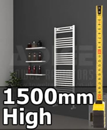 Picture for category 1500mm High Heated Towel Rails & Radiators
