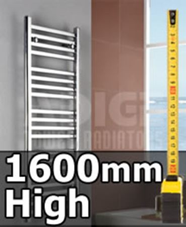 Picture for category 1600mm High Heated Towel Rails & Radiators