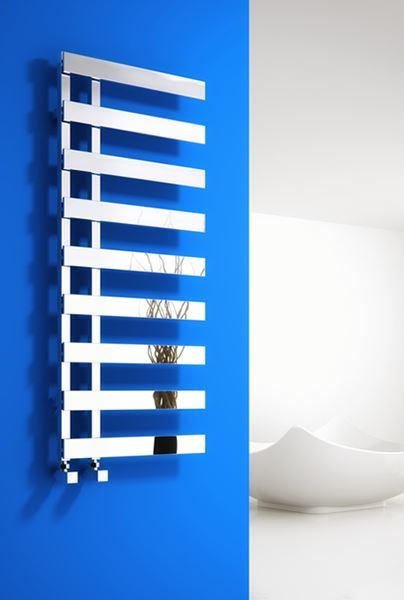 Picture of FLORINA 500mm Wide 1235mm High Chrome Designer Radiator