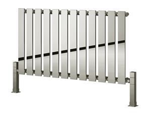 Picture of PIENZA 485mm Wide 550mm High Designer Bathroom Radiator - Chrome