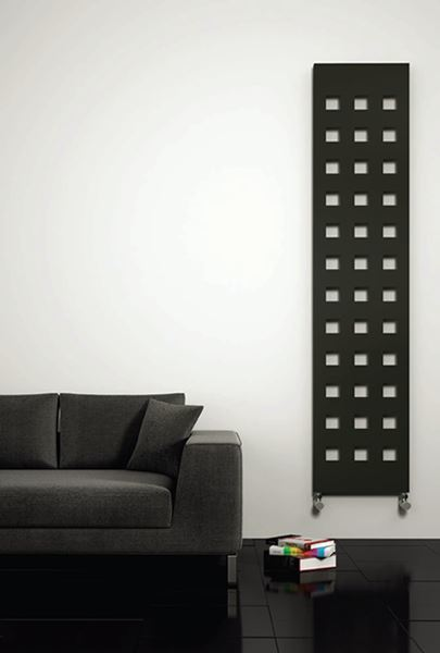 Picture of TERANO 400/1800 Black Designer Radiator