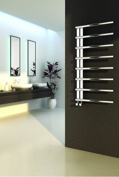 Picture of CELICO 500mm Wide 1000mm High Stainless Steel Designer Radiator