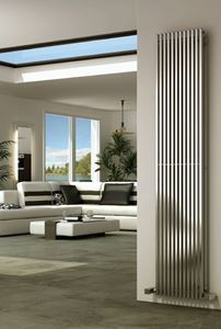 Picture of ODIN 230mm Wide 2000mm High Stainless Steel Designer Radiator