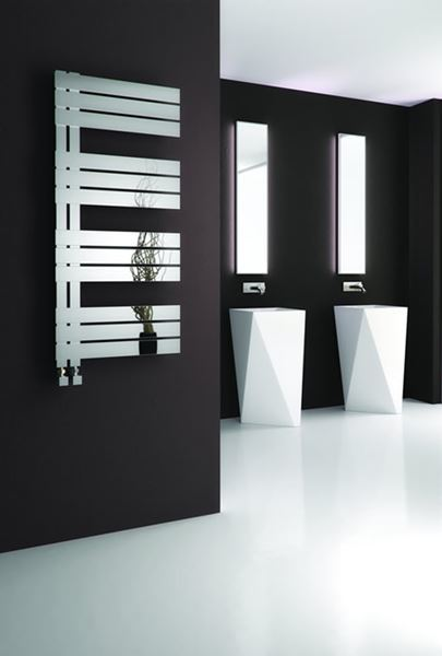 Picture of RICADI 500mm Wide 1440mm High Stainless Steel Towel Radiator