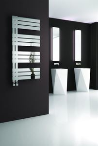Picture of RICADI 500mm Wide 840mm High Stainless Steel Towel Radiator