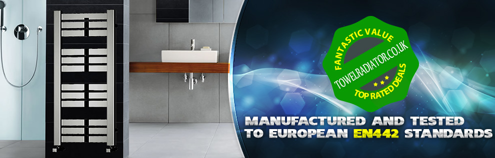 Manufactured & Tested to European EN442 Standards