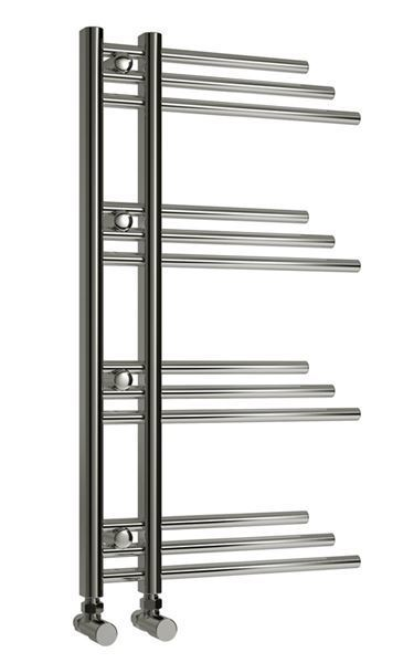 Picture of PALMARI 500mm Wide 900mm High Chrome Designer Towel Radiator