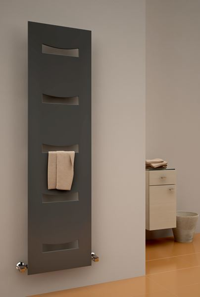 Picture of ANCORA 490mm Wide 1800mm High WHITE Designer Radiator