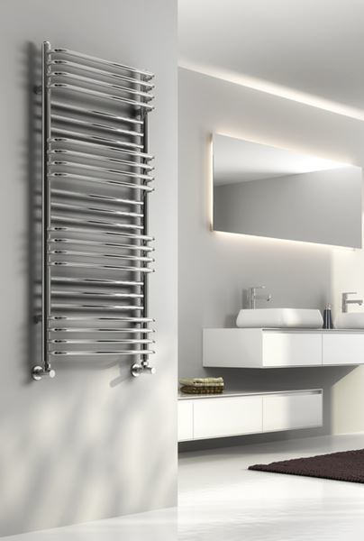 Picture of MARCO 500mm Wide 1400mm High Chrome Designer Radiator