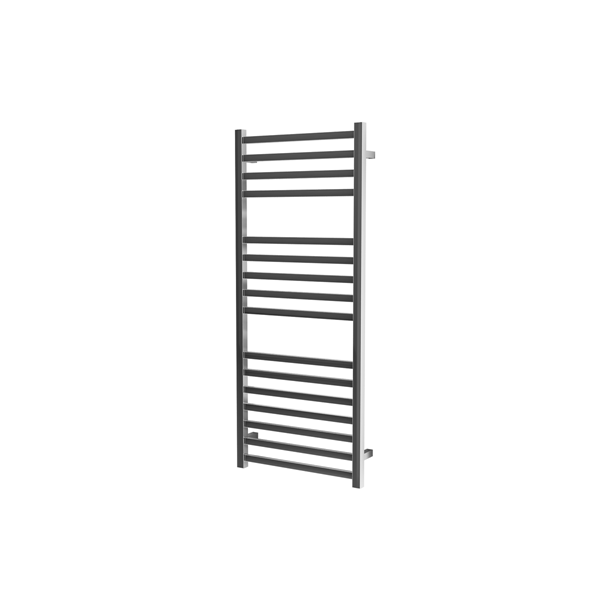 Picture of 500mm Wide 1200mm High Square Tube Stainless Steel Heated Towel Rail
