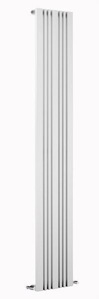 Picture of BONERA 456mm Wide 1800mm High Designer Radiator - White