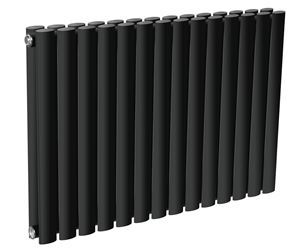 Picture of NEVA 1180mm Wide 550mm High Anthracite Radiator - Double