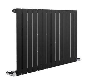 Picture of NEVA 1180mm Wide 550mm High Anthracite Radiator - Single