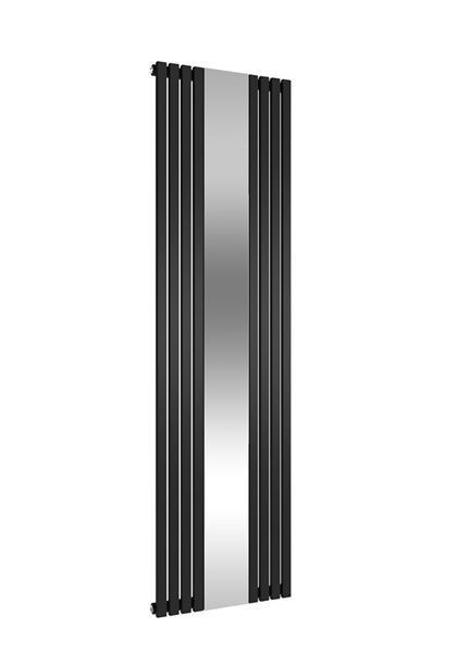 Picture of REFLECT 449mm Wide 1800mm High Vertical Black Designer Radiator