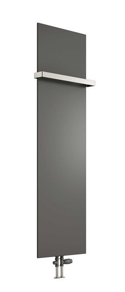 Picture of SLIMLINE 400mm Wide 1170mm High Radiator With Hanging Rail - Anthracite