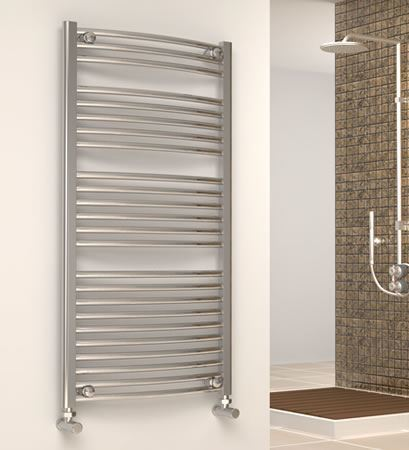 Picture for category Chrome CURVED Towel Radiators