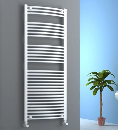 Picture for category White CURVED Towel Radiators