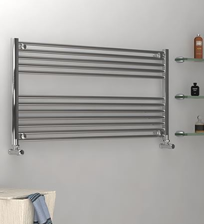 Picture for category CHROME Horizontal Towel Radiators