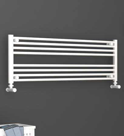 Picture for category WHITE Horizontal Towel Radiators