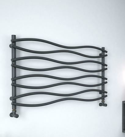 Picture for category ANTHRACITE Horizontal Towel Radiators