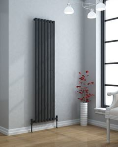 VERTICA 1800x420mm Modern Designer Radiator Anthracite Single Panel