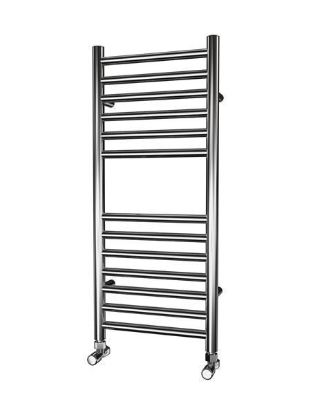 Picture of 400mm Wide 1000mm High FLAT Stainless Steel Towel Radiator