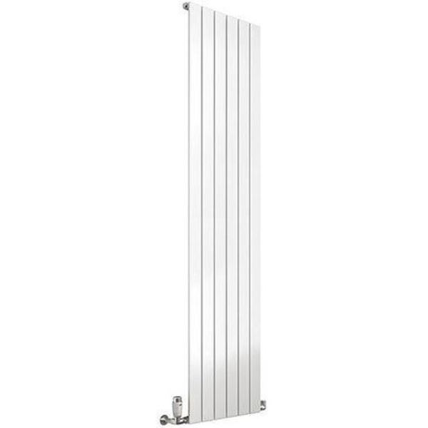 Picture of FLAT 440mm Wide 1800mm High Designer Bathroom Radiator - White Single
