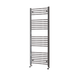 Picture of 500mm Wide 1400mm High Chrome Flat Towel Radiator