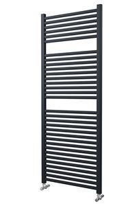 600mm Wide 1512mm High Anthracite Towel Radiator