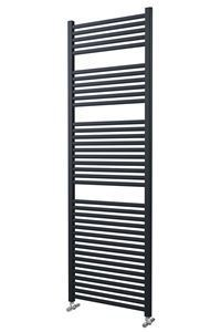 600mm Wide 1785mm High Anthracite Towel Radiator