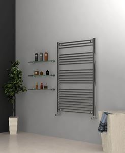 Picture of Chrome Towel Radiator 800mm Wide 1200mm High