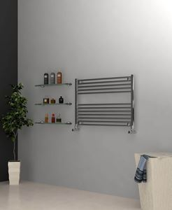 Picture of Chrome Towel Radiator 900mm Wide 600mm High