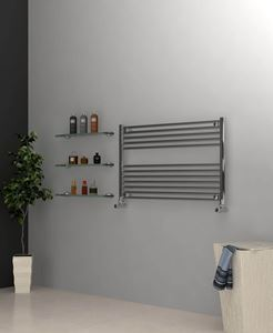 Picture of Chrome Towel Radiator 1000mm Wide 600mm High