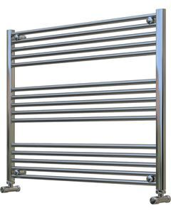 Picture of Chrome Towel Radiator 1000mm Wide 800mm High