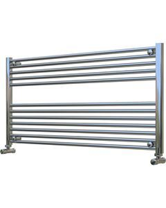 Picture of Chrome Towel Radiator 1200mm Wide 600mm High