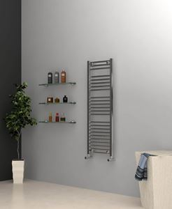 Picture of Chrome Towel Radiator 400mm Wide 1150mm High
