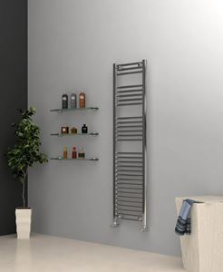 Picture of Chrome Towel Radiator 400mm Wide 1500mm High