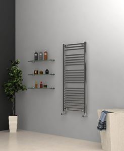 Picture of Chrome Towel Radiator 500mm Wide 1150mm High