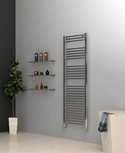Picture of Chrome Towel Radiator 500mm Wide 1500mm High