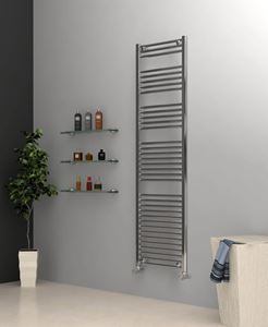 Picture of Chrome Towel Radiator 500mm Wide 1750mm High