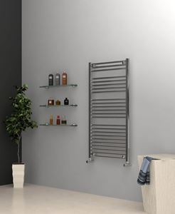Picture of Chrome Towel Radiator 600mm Wide 1230mm High