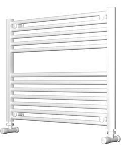 Picture of White Bathroom Towel Rail 800mm Wide 600mm High