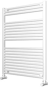 Picture of White Bathroom Towel Rail  800mm Wide 1000mm High
