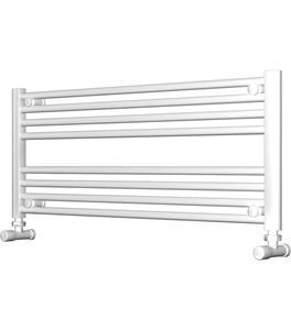 Picture of White Bathroom Towel Rail  1000mm Wide 400mm High