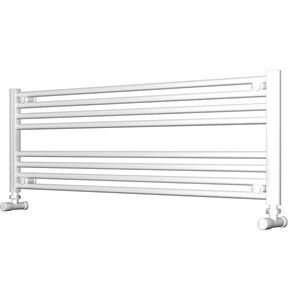 Picture of White Bathroom Towel Rail  1200mm Wide 400mm High
