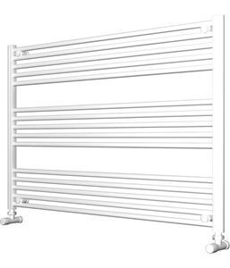 Picture of White Bathroom Towel Rail 1200mm Wide 800mm High