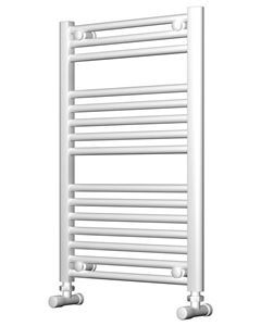 Picture of White Bathroom Towel Rail  500mm Wide 750mm High