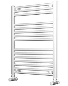 Picture of White Bathroom Towel Rail  600mm Wide 750mm High
